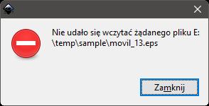 Inkscape błąd 2